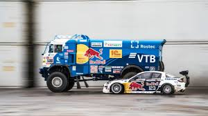100 Redbull Truck Nineton Truck Takes On Drifting Race In Saint Petersburg Kamaz