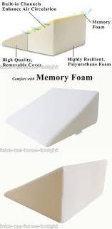 leg positioner pillow multifunctional bed wedge pillow acid