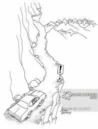 Drawn Cliff Cliffside 5