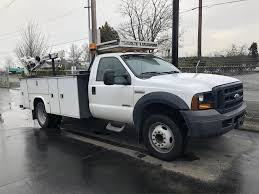 100 Diesel Truck Service 2006 Ford F550 Single Axle Mechanic Powerstroke