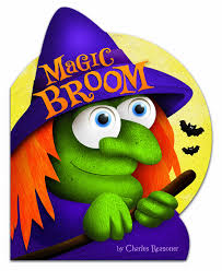 Childrens Halloween Books Witches by 741 U2013 Magic Broom By Charles Reasoner Kid Lit Reviews