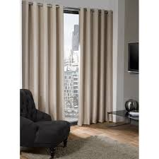 Blackout Curtain Liner Eyelet by Luxury Textured Natural Cream Eyelet Ring Top Thermal Blackout