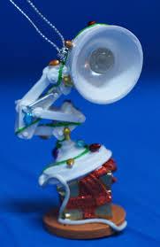 Luxo Jr Lamp Model by Luxo Jr Desk Lamp Ornament Decorated W Lights Christmas Disney