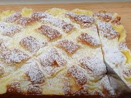 blitzschneller apfelkuchen mit pudding backrezept für einen leckeren apfelkuchen