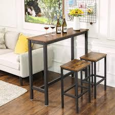 vasagle bartisch lbt12x küchentisch rechteckiger stehtisch esstisch wohnzimmer küche vintage kaufen otto