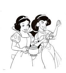 Princess Jasmine Coloring Pages Chuckbuttcom
