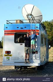 100 Ludo Food Truck EDITORIAL USE ONLY Television Presenter Ben Fogle And His Son