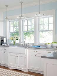 excellent light blue walls in kitchen 59 on modern decoration