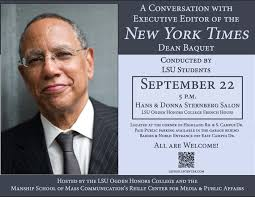 Public Roundtable with the Top Editor of The New York Times on