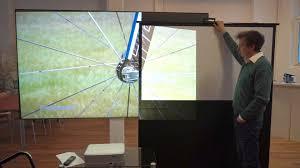tageslicht beamer als tv ersatz großes bild heimkino