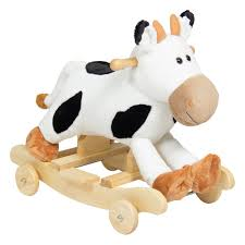 Best Choice Products Kids Ride On Plush Cow Animal Rocker W/ Wheels ... Kinbor Baby Kids Toy Plush Wooden Rocking Horse Elephant Theme Style Amazoncom Ride On Stuffed Animal Rocker Animals Cars W Seats Belts Sounds Childs Chair Makeover Farmhouse Prodigal Pieces 97 3 Miniature Teddy Bears Wood Rocking Chairs Strombecker Buy Animated Reindeer Sing Grandma Got Run Giraffe Chairs Cuddly Toys Child For Custom Gift Personalised Girls Gifts 1991 Gemmy Musical Santa Claus Christmas Decoration Shop Horsestyle Dinosaur Vintage155 Tall Spindled Doll Chair Etsy