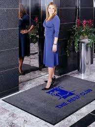 floor mats with logo benefits of custom logo floor mats floor mat systems blog