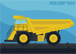 100 Mining Truck Machinery Rigid Dump By LTNG GraphicRiver