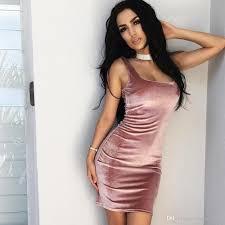 wholesale 2017 summer nightclub women dresses 4 colours gold