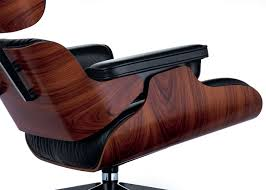 Eames Lounge Chair Nero Leather Santos Palisander Black/Polished Base - New  Dimensions Vitra Eames Lounge Chair Design Charles Et Ray 1956 Mid Century Modern Replacement Steel Swivel Lcw Replica Wood Chair Plywood Group Diiiz Ottomann Polished Black Sides Walnut New Size Ottoman Modterior Usa Herman Miller And White Ash In Mohair Supreme With Classic Black 2019 Leather Walnut The Conran Shop