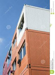 100 Cargo Container Home Container Houses Stock Image Image Of Complex 108628069