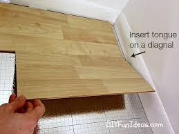 Installing Laminate Floors On Walls by How To Install Beautiful Laminate Floors In One Afternoon Do It