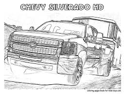 Chevy Silverado Truck Coloring Pages | Great Free Clipart ...