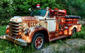 100 Whittemore Truck And Trailer Fire Fab Fifties Pinterest Fire Trucks Rusty Cars And
