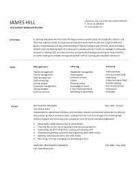 Sales Manager Resume Sample Hotel National Template Cv