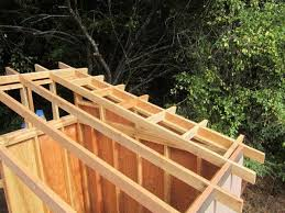 12x16 Slant Roof Shed Plans by Building A Shed Loft Made Easy