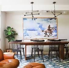 Casual Eclectic Dining Room