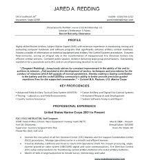 Marine Technician Resume Example Infantryman Job Description Infantry Examples Military To Civilian Free Templates Sample For