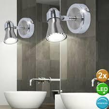wandleuchten 2x luxus led wand beleuchtungen bad spiegel