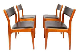Danish Modern Dining Room Chairs Impressive Mid Century With