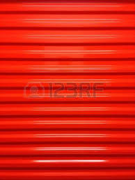 A Red Door In Self Storage Facility Photo