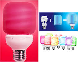 turn a standard cfl or led bulb into a color changing bulb without