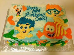 Bubble Guppies Cake Decorations by Bubble Guppies Birthday Cake Darlingcake Com Ithaca Wedding