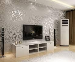 einrichtungsideen wohnzimmer tapeten grau wohnidee