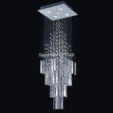 New Square Crystal Chandelier Modern Lamp For Living Room Lighting In Chandeliers From Lights On Aliexpress