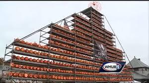 Nh Pumpkin Festival Laconia Nh by First Laconia Pumpkin Fest Does Not Break Keene U0027s World Record