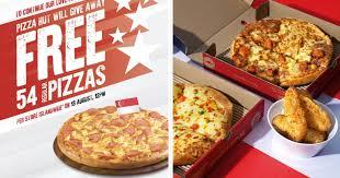 Pizza Hut S'pore Giving Away 54 Free Hawaiian Pan Pizzas Per ...