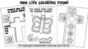 New Life In Christ Jesus Coloring Sheets