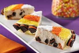 Rice Krispie Halloween Treats Candy Corn by Candy Corn Recipes Kraft Recipes