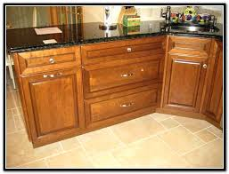 attractive kitchen cabinet hardware placement with knob in