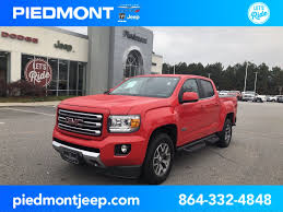 100 Trucks For Sale In Sc Used 2015 GMC Canyon In Anderson SC VIN