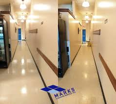 Burnishing Floors After Waxing by Floor Stripping And Waxing Cleveland Mark U0027s Cleaning Service