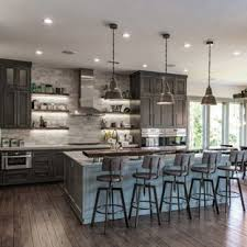 Large Rustic Eat In Kitchen Designs