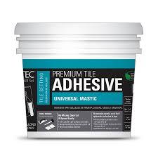 shop tec skill set gray mastic flooring adhesive 3 5 gallon at