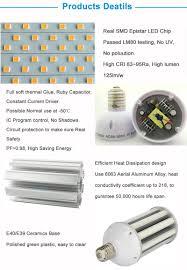 watt led corn bulb light