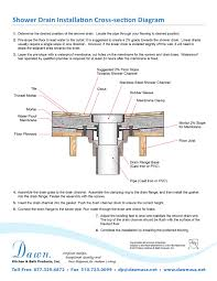 Bathtub Drain Leaks Diagram by Shower Drain Replacement Diy Bathtub Drain Removal Andor Tool And