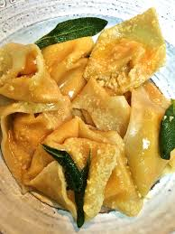 Pumpkin Ravioli Sage Butter Sauce by Butternut Squash Tortellini With Sage Brown Butter Sauce Whisked