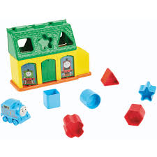 Thomas Tidmouth Sheds Mega Bloks by My First Thomas The Train Tidmouth Shape Sorter
