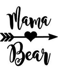 Mama Bear Sticker Yeti Decal Mom Gift