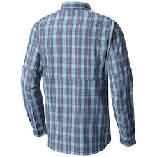 columbia men u0027s silver ridge lite plaid long sleeve shirt