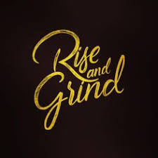 Rise And Grind Sketch By Zakaria